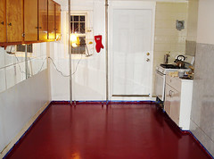 Kitchen Floor Finished (chrisglazier) Tags: house upper renovation fixer