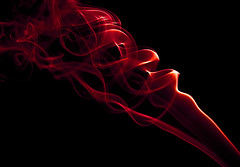 Fire (RottieLover) Tags: red 50mm nikon smoke d200 incense 50mmf14d nikonstunninggallery anawesomeshot aplusphoto