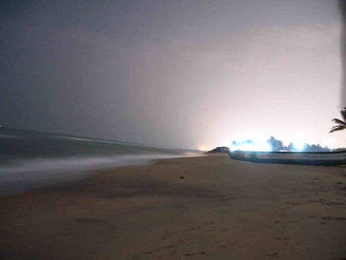 Night Sky at the beach