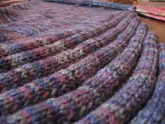 clapotis WIP 001 (swandive00) Tags: knitting wip knitty clapotis patons acrylicwool patonsdecor acrylicisscary butwashable