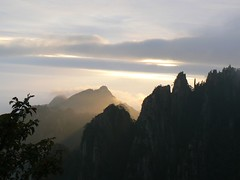 Sunset in Huang Shan