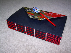 Asian Long Stitch - Hand Bound Book (Terry.Tyson) Tags: bookbinding longstitch asiandesign