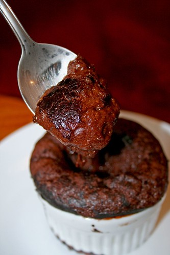 Individual Dark Chocolate Pudding Cakes | The Wandering Eater