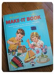 """vintage """"make-it"""" book 01"""