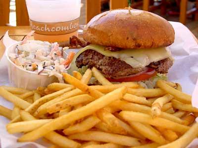 Beachcomber burger