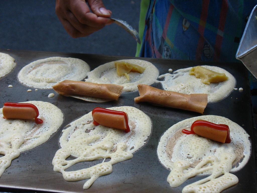 Sausage in a Pancake