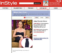 Jaime Pressly in  Jay Godfrey on Leno (noah77) Tags: fashion leno jaimepressly jaygodfrey