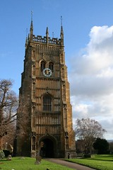 Evesham, Abbey Bell Tower. (Tudor Barlow) Tags: winter england towers churches worcestershire evesham parishchurch abbeys tamron1750