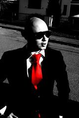 I don't look a thing like Jesus (Master Mason) Tags: red bw italy selfportrait color me colors photoshop cutout ego rouge italia tie bn io rosso bianconero romagna forlì cravatta ildottore mastermason lanouvellerevolutionsurrealiste ennesimafotorubata romagnawayoflife mangiatadel24