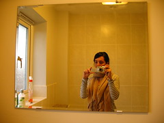 Day 74: Bathroom Mirror - by Alice Harold