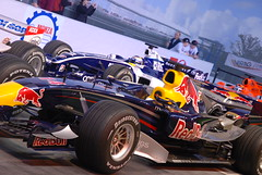 Red Bull Racing & Williams F1 Cars