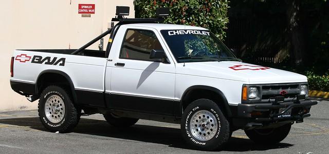 chevrolet chevy 1991 baja s10