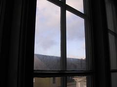Skitigt fönster liten