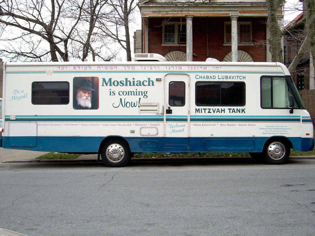 mitzvah tank, crown heights