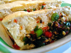 Kofoo: Baked Tofu (Adam Kuban) Tags: nyc newyorkcity food lunch chelsea manhattan tofu korean koreanfood nyccuisine koreancuisine eighthavenue bakedtofu kofoo west27thstreet