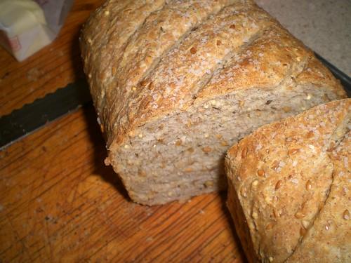 Rye Flax Oat Caraway Buttermilk 1-17-07