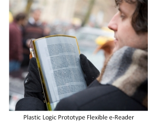 Plastic Logic's Flexible e-Reader Prototype