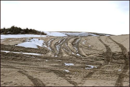 Snow on Dunes