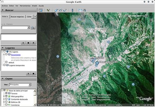 Google Earth en mi Etch AMD64