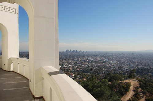 Above Los Angeles, from Griffith Observatory