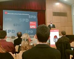 Neujahrsempfang Jusos BaWü, Gernot Erler (SPD)