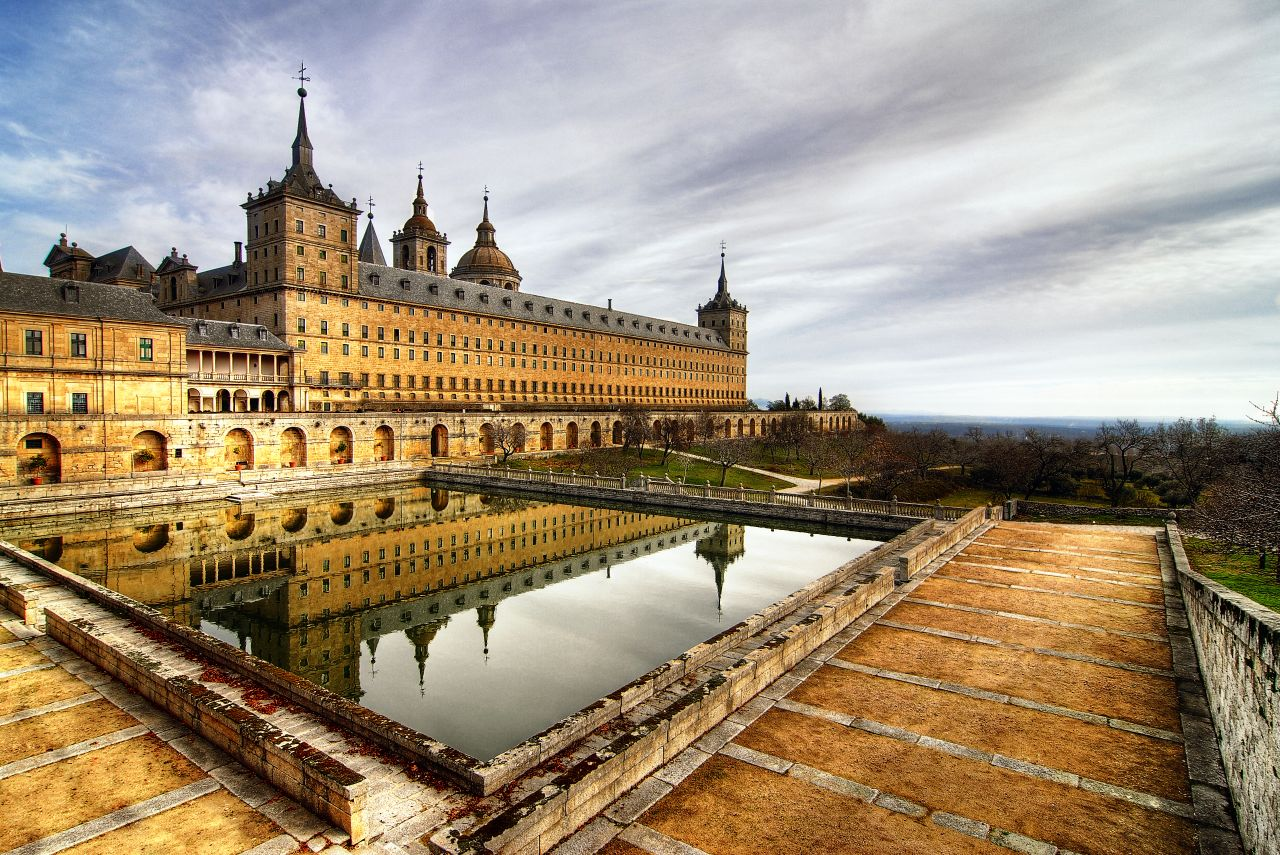 Photo de Madrid n°2. Le monastère de l'Escorial à Madrid