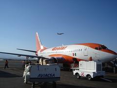 Avolar jet in Oaxaca
