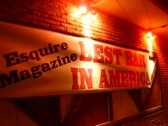 best bar in america (meg82skylark) Tags: nyes northeastminneapolis bestbar easthennepin bestpolkabandforsure nicebooths ididntdotheresearchsoitshardtosay anyonewhocanfitthewordpissoirintoamagazinearticleisallrightbyme