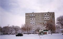 bishkek flats (mm-j) Tags: snow fuji superia january contax 400 kyrgyzstan t2 bishkek