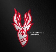 Raw - The Meat Flavored Energy Drink - by Kyle Jones