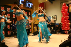 Sahlala Dancers (susiep94115) Tags: dance turquoise twirl bellydance bellydancesuperstars jillina issamhoushan sahlaladancers