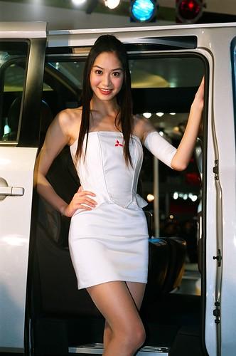 Taiwan Car Show Girl