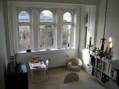 Interiors: Dining Room (Mikael Colville-Andersen) Tags: b windows home window copenhagen table interiors apartment flat chairs letters n chandelier diningroom ellipse letter ph appartement interiordesign gaf casamia ilva danishdesign 100faves