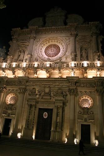 Santa Croce's crazyamazing facade, Lecce