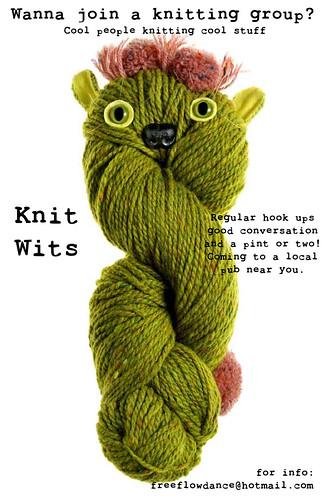 Knit Wits knitting club