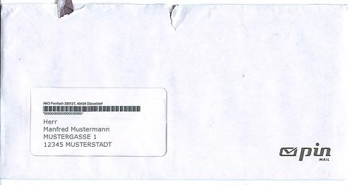Vorsicht Postwurfsendung vom Anwalt