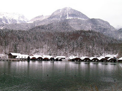 Berchtesgaden National Park (joywowjoy) Tags: travel lake snow germany berchtesgaden nikon coolpix5400 berchtesgadennationalpark