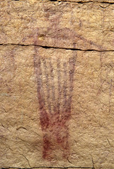 Faint Pictograph (bclee) Tags: utah san rafael swell rockart pictograph barriercanyonstyle nikoncoolscanived