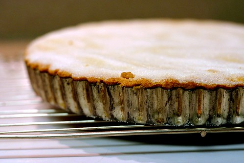 lemon confit shortbread tart