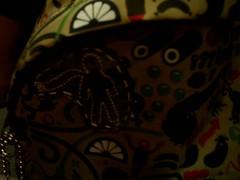 Detalhe da Padded do Zé (Utopia* by Mah Facchini) Tags: eastpak customização