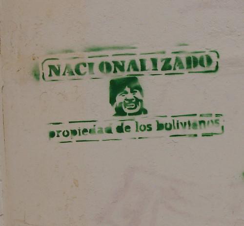 Nacionalizado boliviano Evo morales