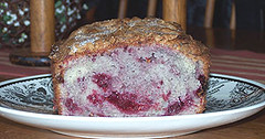 The Red Raspberry Bread