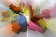 Candy Colors (henx fotojam) Tags: pink blue orange colors yellow candy sweet drop engelse