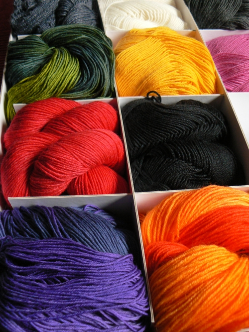 project spectrum sock colours