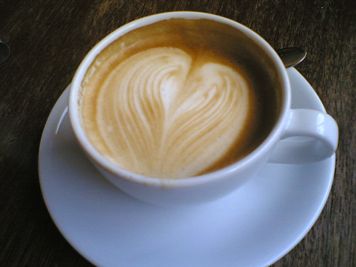 Coffee Art, Edinburgh by alixanaeuphoria, on Flickr