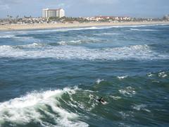 Huntington Beach beach (The Keebler) Tags: huntingtonbeach reddot