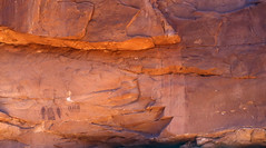 Glowing Intestine Man (bclee) Tags: utah rockart intestine pictograph barriercanyonstyle nikoncoolscanived
