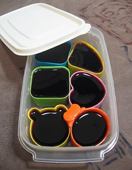 Juice jello stash for bento lunches