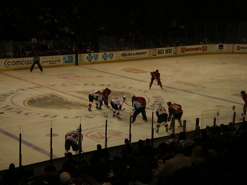 Minor league hockey: they're more violent and we like it