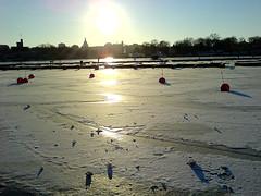 Ice in Stockholm